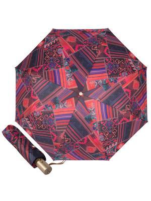 Зонт складной M&P C5867-OC Entico Orange. Цвет: индиго, красный, малиновый