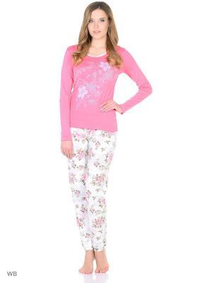 Пижама женская NICOLETTA. Цвет: розовый