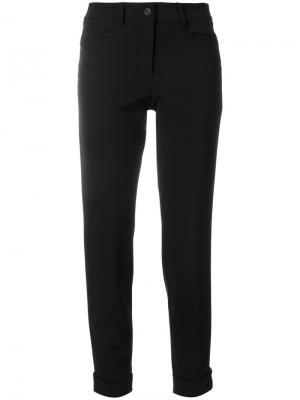 Укороченные брюки скинни Cambio. Цвет: чёрный