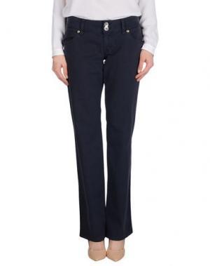 Повседневные брюки NOLITA. Цвет: темно-синий