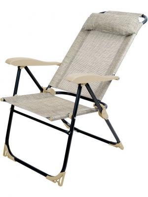 Кресло-шезлонг складное Nika. Цвет: бежевый