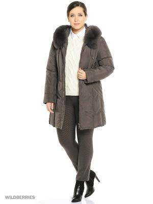 Куртка DECENTLY. Цвет: серый