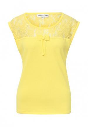 Топ Passioni. Цвет: желтый