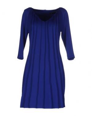 Короткое платье SOOZ BY ISABEL C.. Цвет: синий