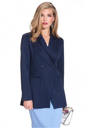 Пиджак Gloss. Цвет: синий