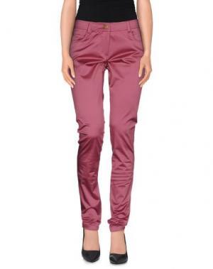 Повседневные брюки MARGIT BRANDT. Цвет: пурпурный