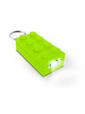 Брелок-фонарик для ключей LEGO Friends (цвет: лайм). Цвет: салатовый