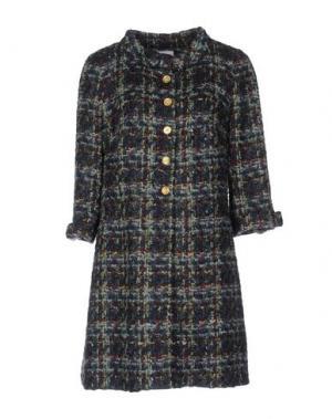 Пальто EDWARD ACHOUR. Цвет: зеленый
