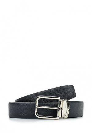 Ремень Trussardi Jeans. Цвет: синий