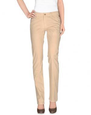 Повседневные брюки GB8. Цвет: бежевый