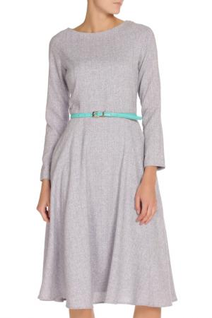Платье-миди NATALIA PICARIELLO. Цвет: сиреневый