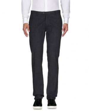 Повседневные брюки YES ZEE BY ESSENZA. Цвет: темно-синий