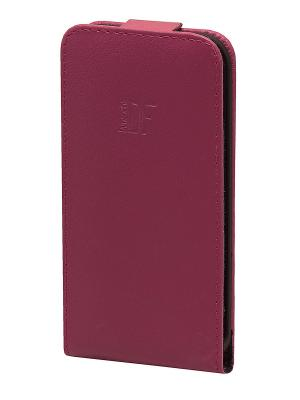 Чехол для iPhone 5/5s Dimanche. Цвет: малиновый, фуксия