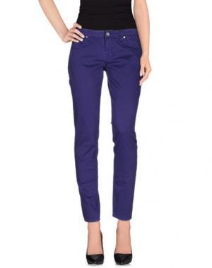 Повседневные брюки FIORUCCI. Цвет: фиолетовый