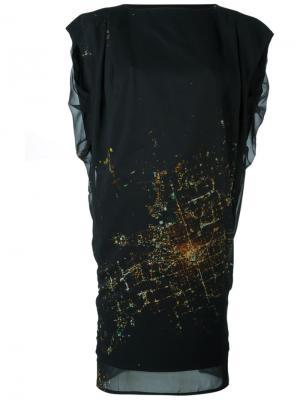 Платье Zany Minimarket. Цвет: чёрный