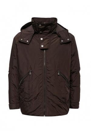 Куртка утепленная Trussardi Collection. Цвет: коричневый