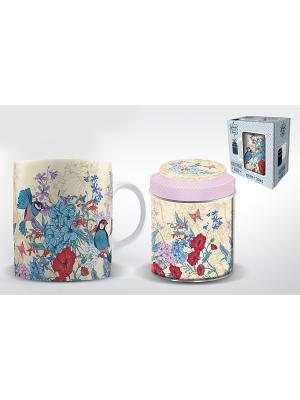 Подарочный набор РИСОВЫЕ АМАДИНЫ Magic Home. Цвет: белый, синий, бежевый