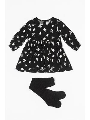 Комплект одежды MINOTI. Цвет: черный, розовый