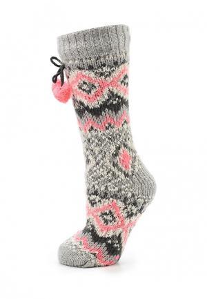 Носки Loungeable. Цвет: серый