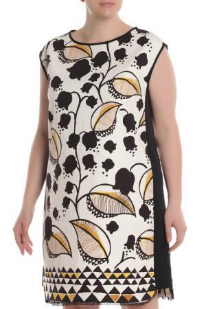 Платье Beatrice. B. Цвет: белый, листья