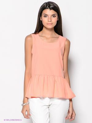 Топ Vero moda. Цвет: персиковый