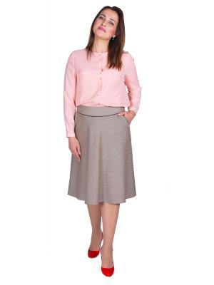 Блузка Falinda. Цвет: розовый