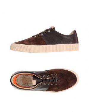 Низкие кеды и кроссовки POINTER. Цвет: темно-коричневый
