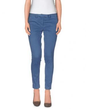 Повседневные брюки GABARDINE. Цвет: пастельно-синий