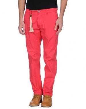 Повседневные брюки BASICON. Цвет: коралловый