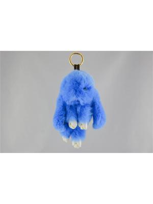 Брелок Miss Bijou. Цвет: голубой, золотистый, белый