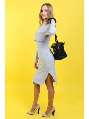 Платье Urban MA Grey Melange Midi MilkyMama