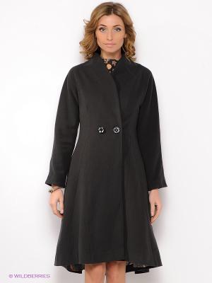 Пальто Анна Чапман. Цвет: темно-серый