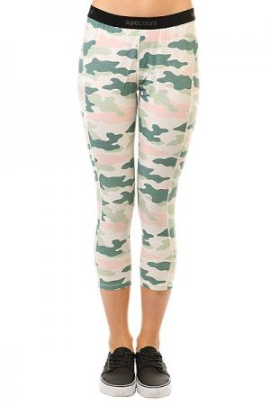 Термобелье (низ) женское  Base 3/4 Tight 230 Fresh White/Camo Pri Super Natural. Цвет: мультиколор