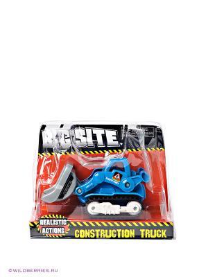 Трактор с ковшом Keenway. Цвет: синий, серый, черный