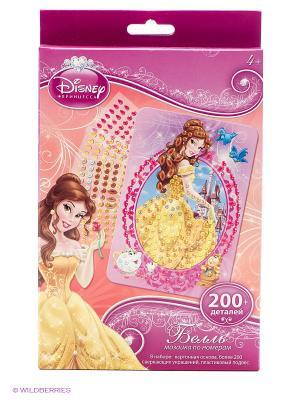 Disney Princess Мозаика -сингл Бель Чудо-творчество. Цвет: желтый, белый, розовый