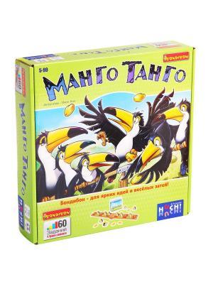 Логическая игра Bondibon, МангоТанго BOX 24x24x5,5 см, арт.877680 BONDIBON. Цвет: белый, салатовый, черный