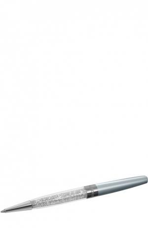 Шариковая ручка Crystalline Stardust Swarovski. Цвет: серебряный
