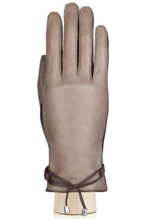 Перчатки Eleganzza. Цвет: серо-коричневый, темно