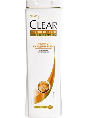 Шампунь Clear Защита от выпадения волос 400 мл. Цвет: белый
