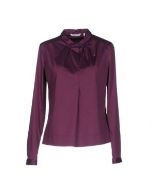 Блузка GUGLIELMINOTTI. Цвет: розовато-лиловый