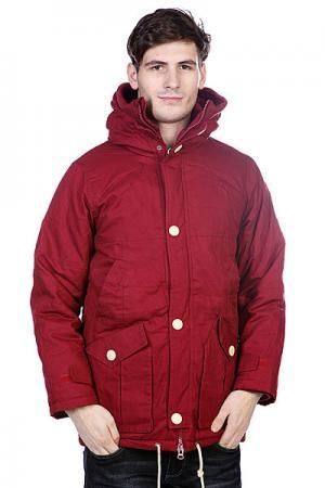 Куртка зимняя True Spin Soldier Burgundy TrueSpin. Цвет: бордовый