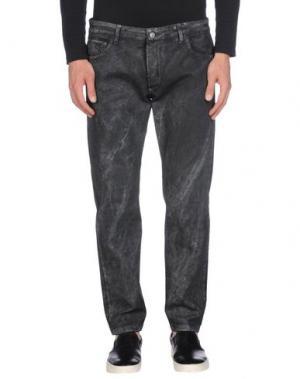 Джинсовые брюки ENTRE AMIS. Цвет: свинцово-серый