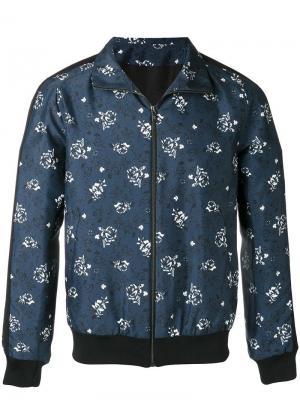 Спортивная куртка с принтом Paul & Joe. Цвет: синий