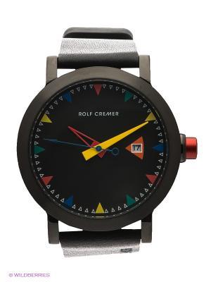 Часы Mech-Automatik Lederband 60 Rolf Cremer. Цвет: черный