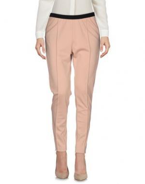 Повседневные брюки KORALLINE. Цвет: розовый