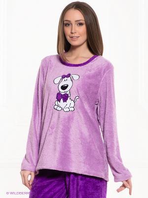 Пижама Vienetta Secret. Цвет: сиреневый, фиолетовый