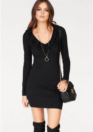 Платье MELROSE. Цвет: серый меланжевый