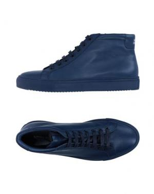 Высокие кеды и кроссовки NATIONAL STANDARD. Цвет: темно-синий