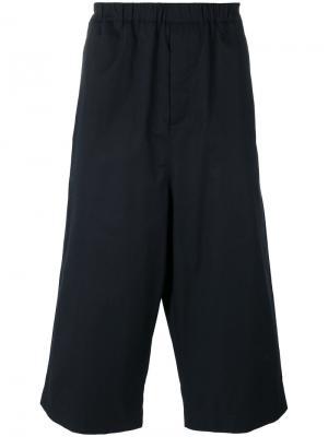Укороченные брюки Strong Hackney Société Anonyme. Цвет: синий