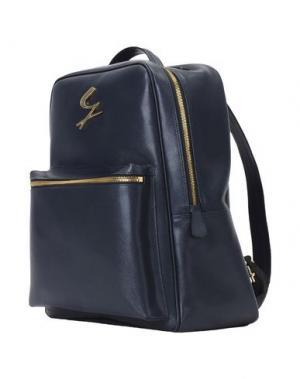 Рюкзаки и сумки на пояс GATTINONI. Цвет: темно-синий
